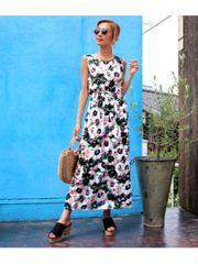 One-piece dress for women. picture of maxi length・long dresses (aap0118a0455)